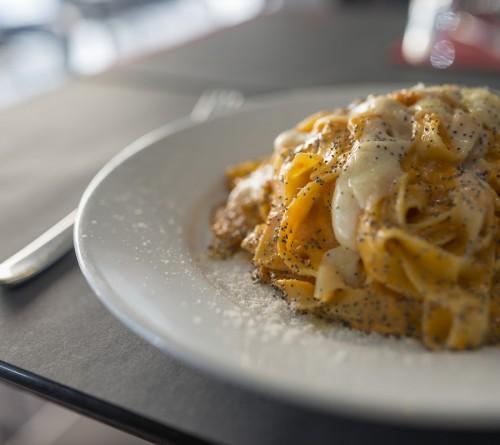 un primo piatto dalla cucina di raf il ristorante a roma prati