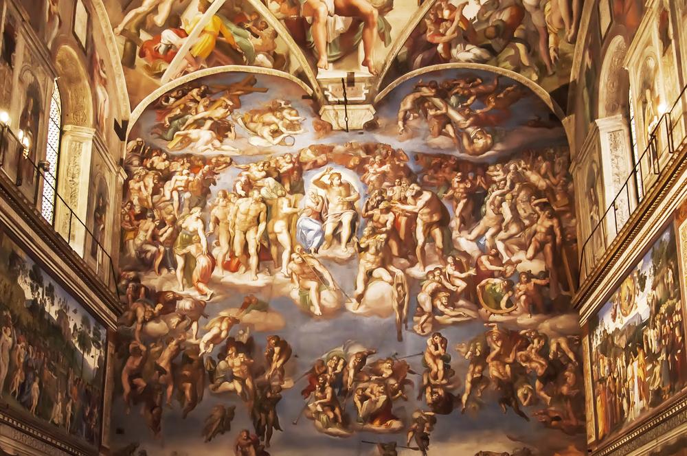 Cappella Sistina Giudizio
