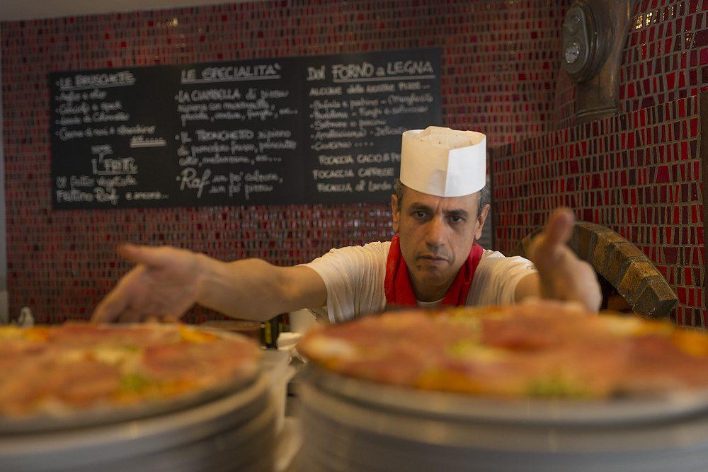 Coma fare una buona pizza Raf