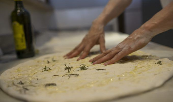 impasto pizza romana